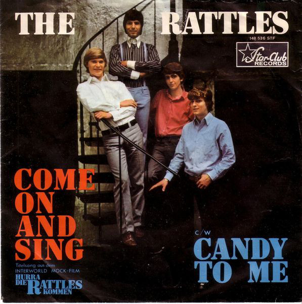Bild The Rattles - Come On And Sing / Candy To Me (7) Schallplatten Ankauf