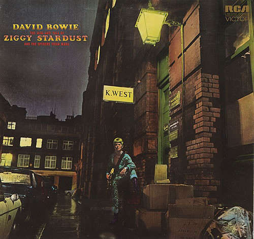 Cover David Bowie - The Rise And Fall Of Ziggy Stardust And The Spiders From Mars (LP, Album, Roc) Schallplatten Ankauf