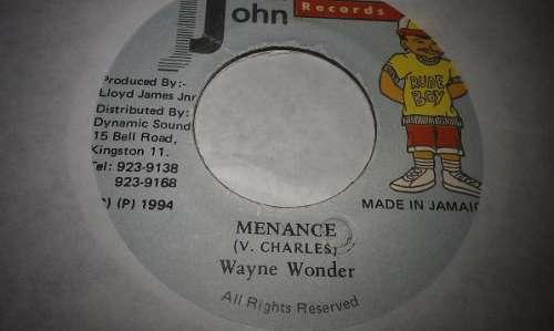 Bild Wayne Wonder - Menance (7) Schallplatten Ankauf