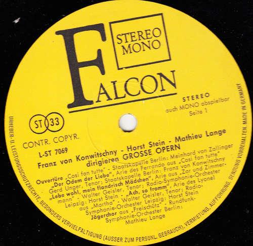Bild Franz Konwitschny, Horst Stein, Mathieu Lange* - Grosse Opern (LP, Comp) Schallplatten Ankauf