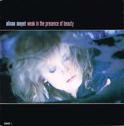 Cover zu Alison Moyet - Weak In The Presence Of Beauty (7, Single) Schallplatten Ankauf