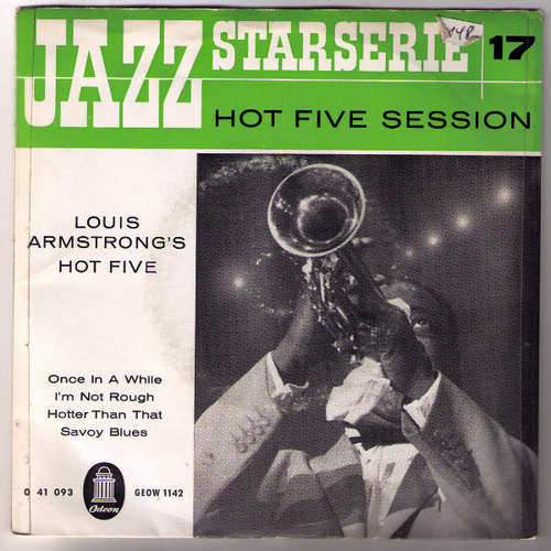 Bild Louis Armstrong & His Hot Five - Hot Five Session (7) Schallplatten Ankauf