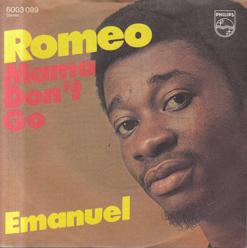 Cover Emanuel (6) - Romeo (7, Single) Schallplatten Ankauf