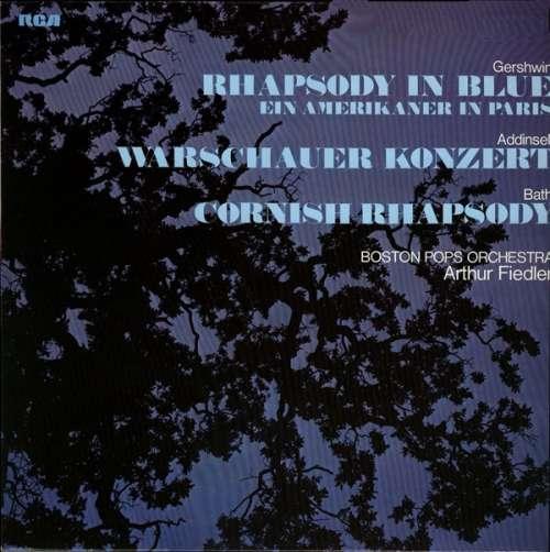 Bild Gershwin* / Addinsell* / Bath* – Boston Pops Orchestra*, Arthur Fiedler - Rhapsody In Blue / Ein Amerikaner In Paris/ Warschauer Konzert / Cornish Rhapsody (LP, Comp, RE) Schallplatten Ankauf
