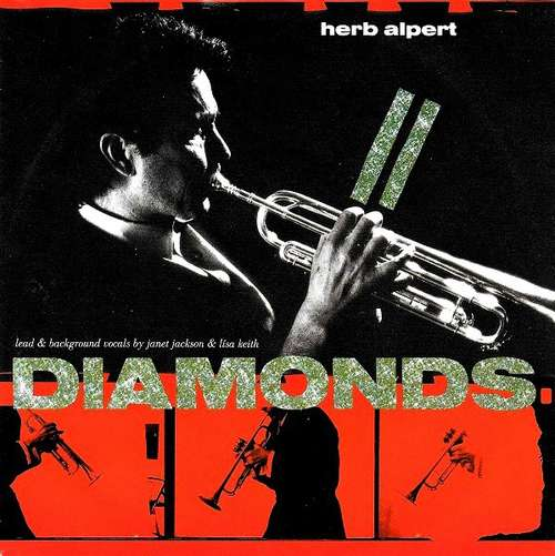 Cover Herb Alpert - Diamonds (7, Single) Schallplatten Ankauf