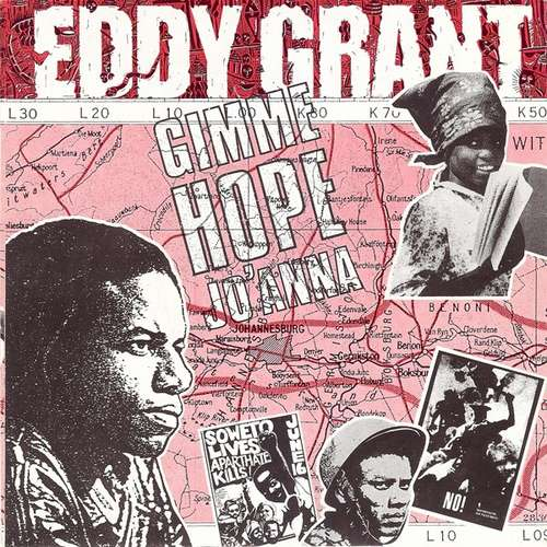 Cover Eddy Grant - Gimme Hope Jo'Anna (7, Single) Schallplatten Ankauf