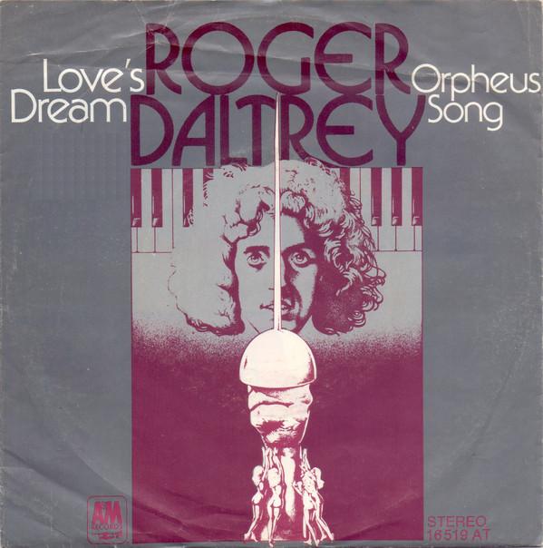 Cover Roger Daltrey - Love's Dream (7, Single) Schallplatten Ankauf