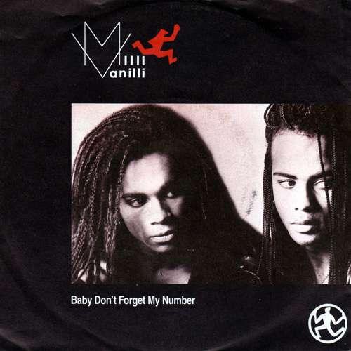 Bild Milli Vanilli - Baby Don't Forget My Number (7, Single) Schallplatten Ankauf