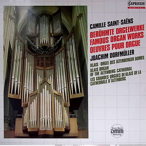 Cover zu Camille Saint-Saëns - Joachim Dorfmüller - Berühmte Orgelwerke = Famous Organ Works = Oeuvres Pour Orgue (LP, Album) Schallplatten Ankauf