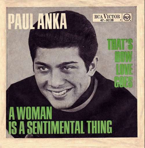 Bild Paul Anka - That's How Love Goes (7, Single) Schallplatten Ankauf