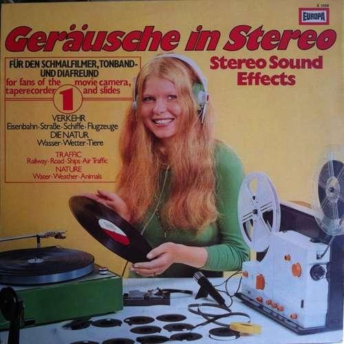 Cover No Artist - Geräusche In Stereo 1 (Stereo Sound Effects) (LP) Schallplatten Ankauf