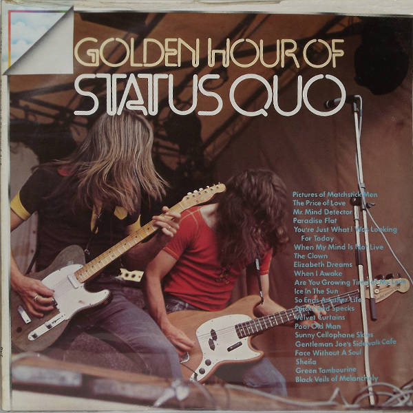 Cover Status Quo - Golden Hour Of Status Quo (LP, Comp, RE) Schallplatten Ankauf