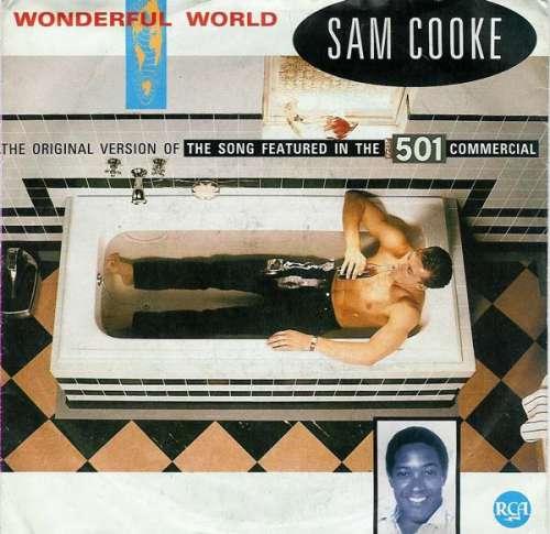 Bild Sam Cooke - Wonderful World (7, Single) Schallplatten Ankauf