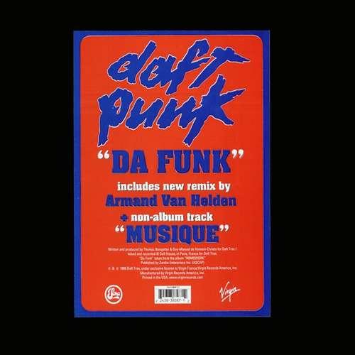 Cover Daft Punk - Da Funk (12) Schallplatten Ankauf