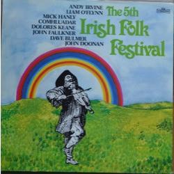 Cover zu Various - The 5th Irish Folk Festival (2xLP) Schallplatten Ankauf