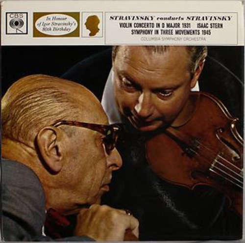 Bild Stravinsky* , Violin Isaac Stern, Columbia Symphony Orchestra - Stravinsky Conducts Stravinsky : Violin Concerto In D Major / Symphony In Three Movements  (LP, Mono) Schallplatten Ankauf