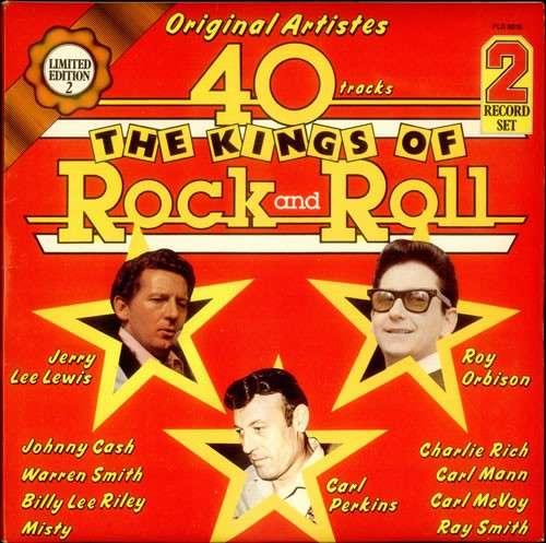 Cover Various - The Kings Of Rock And Roll (2xLP, Comp, Ltd) Schallplatten Ankauf