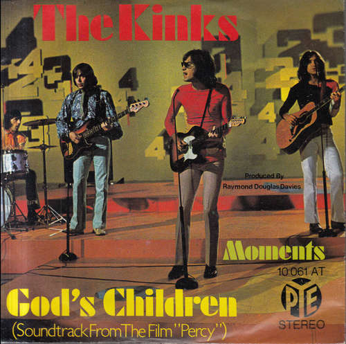 Cover The Kinks - God's Children (7) Schallplatten Ankauf