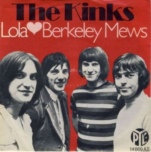 Cover The Kinks - Lola / Berkeley Mews (7, Single, Mono) Schallplatten Ankauf