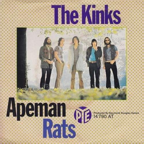 Cover zu The Kinks - Apeman / Rats (7, Single, Mono) Schallplatten Ankauf