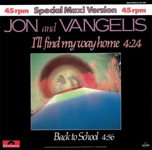 Bild Jon And Vangelis* - I'll Find My Way Home (Special Maxi Version) (12, Maxi) Schallplatten Ankauf