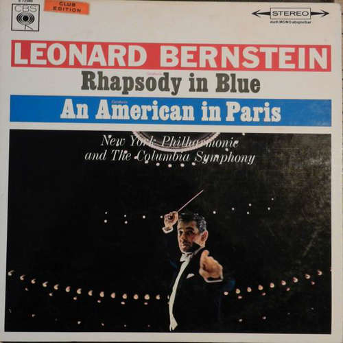 Bild Gershwin* - Leonard Bernstein, New York Philharmonie*, The Columbia Symphony* - Rhapsody In Blue / An American In Paris (LP, Album) Schallplatten Ankauf