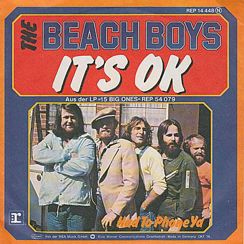 Bild The Beach Boys - It's O.K. (7, Single) Schallplatten Ankauf