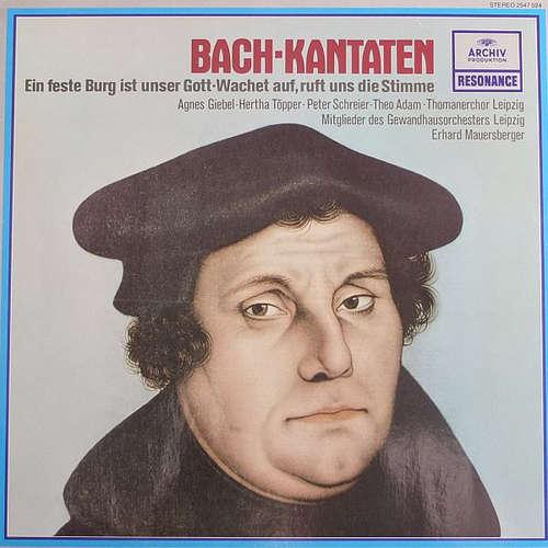 Cover zu Thomanerchor Leipzig*, Mitglieder Des Gewandhausorchesters Leipzig* - Bach* - Ein Feste Burg Ist Unser Gott (LP) Schallplatten Ankauf