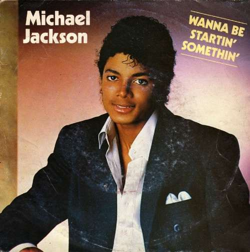 Cover Michael Jackson - Wanna Be Startin' Somethin' (7, Single) Schallplatten Ankauf