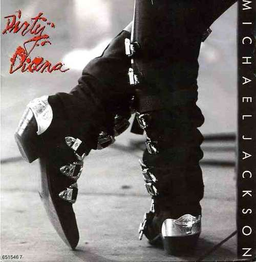 Cover Michael Jackson - Dirty Diana (7, Single) Schallplatten Ankauf