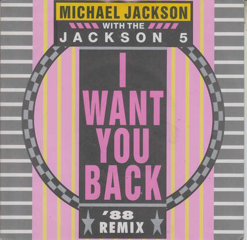 Cover Michael Jackson With The Jackson 5 - I Want You Back '88 Remix (7, Single) Schallplatten Ankauf