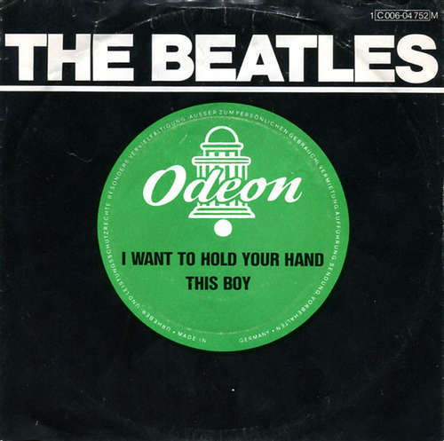 Cover The Beatles - I Want To Hold Your Hand / This Boy (7, Single, Mono, RE) Schallplatten Ankauf