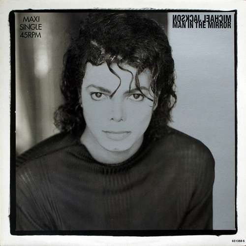Cover Michael Jackson - Man In The Mirror (12, Maxi) Schallplatten Ankauf
