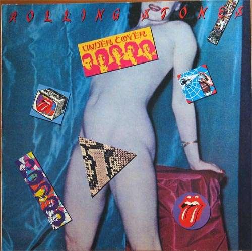Cover The Rolling Stones - Undercover (LP, Album) Schallplatten Ankauf