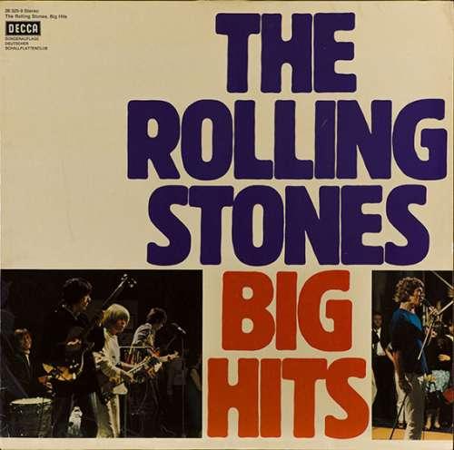 Cover Rolling Stones, The - Big Hits (LP, Comp, Club, RE) Schallplatten Ankauf