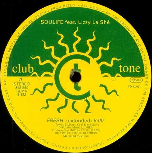 Cover Soulife Feat. Lizzy La Shé - Fresh (12) Schallplatten Ankauf