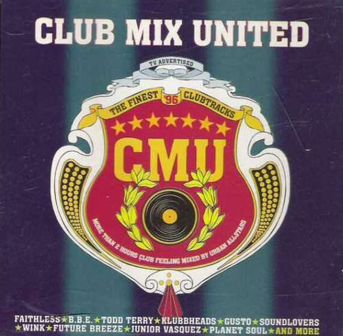 Cover Various - Club Mix United - The Finest '96 Clubtracks (2xCD, Comp, Mixed) Schallplatten Ankauf