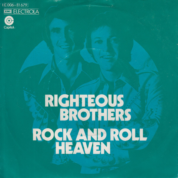 Cover zu The Righteous Brothers - Rock And Roll Heaven (7, Single) Schallplatten Ankauf