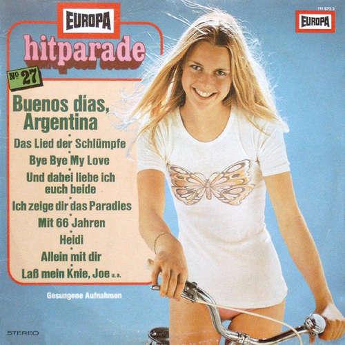 Cover zu Orchester Udo Reichel - Europa Hitparade 27 (LP) Schallplatten Ankauf