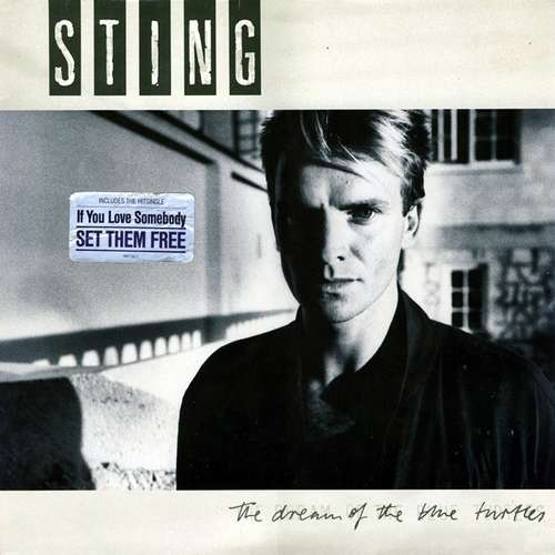 Cover Sting - The Dream Of The Blue Turtles (LP, Album) Schallplatten Ankauf