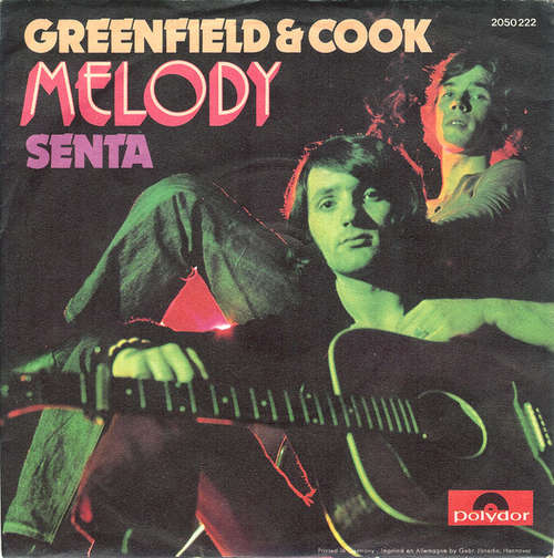 Cover Greenfield & Cook - Melody (7, Single) Schallplatten Ankauf