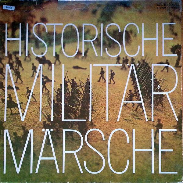 Cover Zentrales Orchester Der Nationalen Volksarmee - Historische Militärmärsche (LP, Album) Schallplatten Ankauf