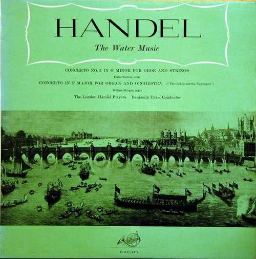 Bild Handel* –  The London Handel Players, Benjamin Tuke - Watermusic - Wassermusik (LP) Schallplatten Ankauf
