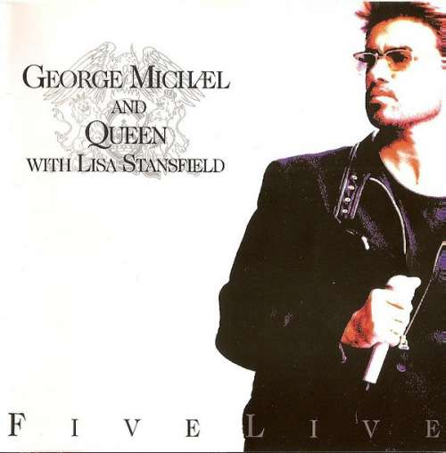 Cover George Michael And Queen With Lisa Stansfield - Five Live (CD, EP) Schallplatten Ankauf