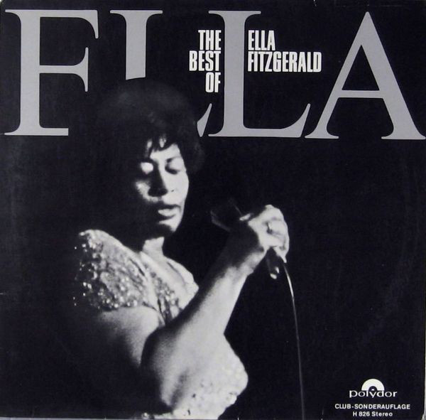 Cover Ella Fitzgerald - The Best Of Ella Fitzgerald (LP, Comp, Club) Schallplatten Ankauf