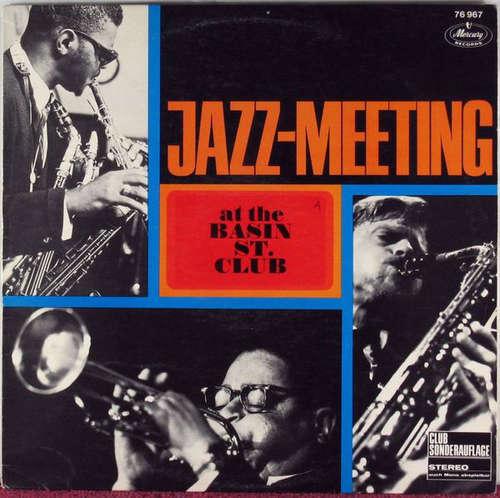 Cover zu Various - Jazz-Meeting At The Basin St. Club (LP, Comp, Club) Schallplatten Ankauf