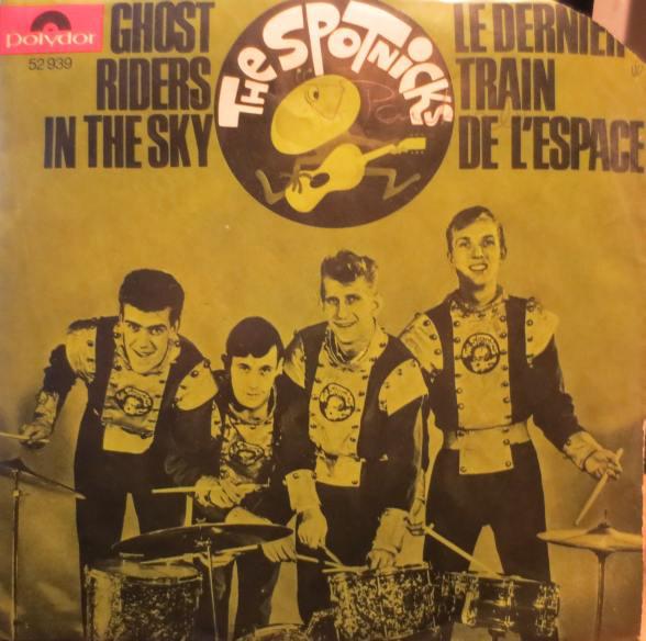 Bild The Spotnicks - Ghost Riders In The Sky / Le Dernier Train De L'espace (7, Single) Schallplatten Ankauf