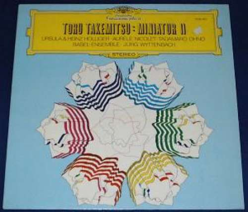 Cover Toru Takemitsu - Ursula Holliger & Heinz Holliger · Aurèle Nicolet · Tadamaro Ohno · Basel-Ensemble · Jürg Wyttenbach - Miniatur II (LP, Comp) Schallplatten Ankauf