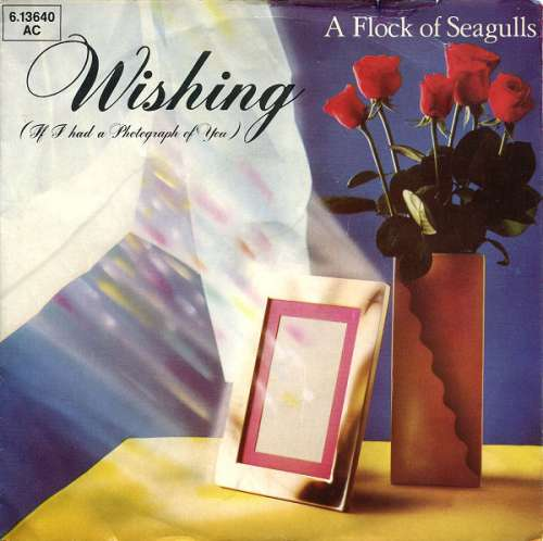 Cover A Flock Of Seagulls - Wishing (If I Had A Photograph Of You) (7, Single) Schallplatten Ankauf
