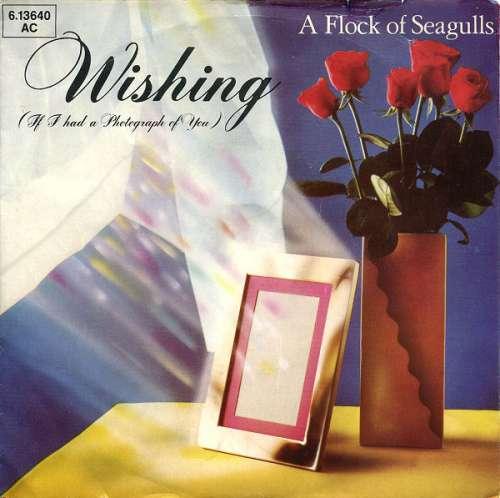 Bild A Flock Of Seagulls - Wishing (If I Had A Photograph Of You) (7, Single) Schallplatten Ankauf
